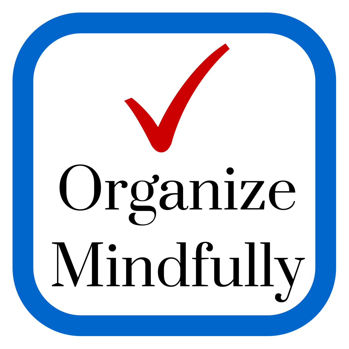 Organize Mindfully | Be inspired to bring organization into your life