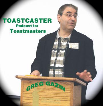 Toastcaster Speakcast for Toastmasters