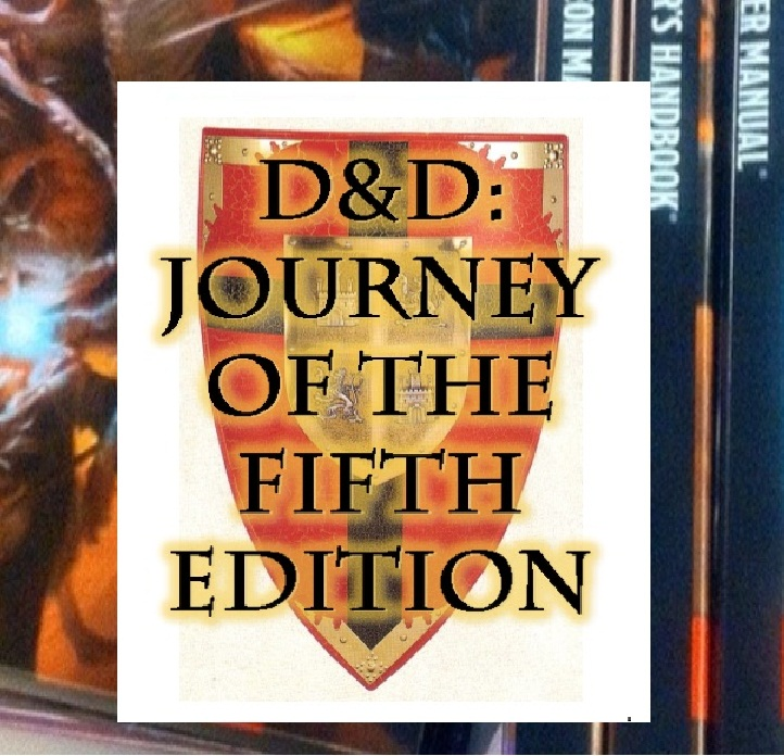 D&D Journey of the Fifth Edition logo