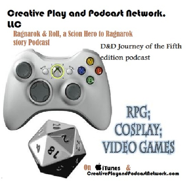 Creative Play and Podcast Network logo