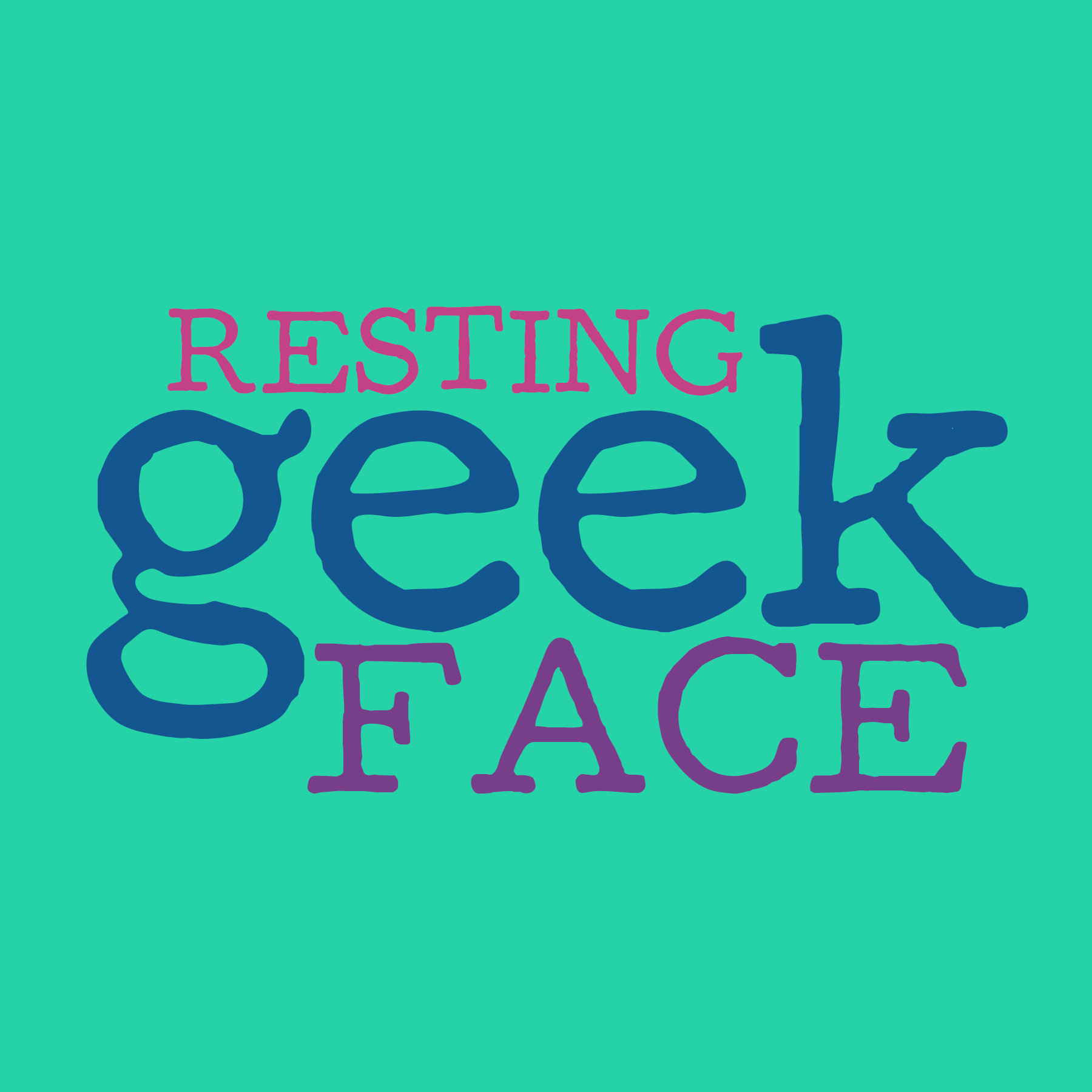 Resting Geek Face